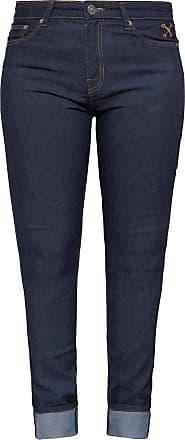 Queen Kerosin Womens (Leer) Jeans, Dark Blue, 27W x 32L