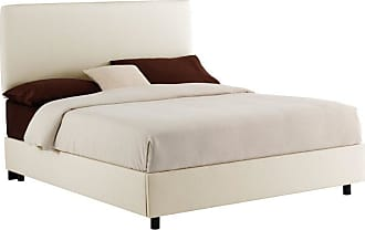 Skyline Furniture Velvet Upholstered Bed Velvet-Aubergine Purple, Size: Queen - 752BED-Q-VELVT-AUBRG