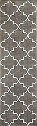 Well Woven DU-27-2 Dulcet Elles Lattice Modern Geometric Trellis Grey Area Rug 2 x 73 Runner