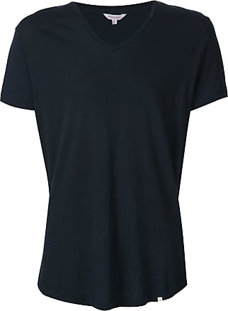 Orlebar Brown Camiseta gola V - Azul