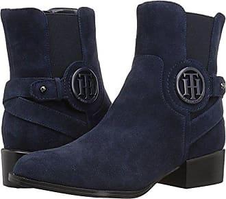 ed88882a Tommy Hilfiger Womens Mavrick Ankle Boot, Navy, 6 Medium US