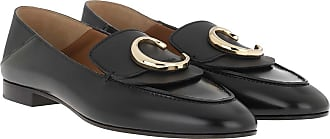 Chloé Loafers & Slippers - C Loafers Leather Black - black - Loafers & Slippers for ladies