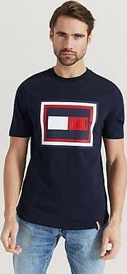 Tommy Hilfiger T-shirt Hilfiger Frame Relaxed Fit Tee Blå