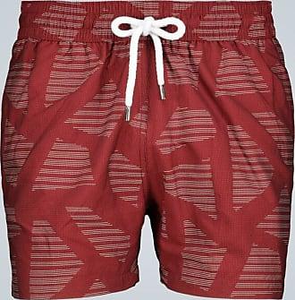 Frescobol Carioca Modernist jacquard swim shorts
