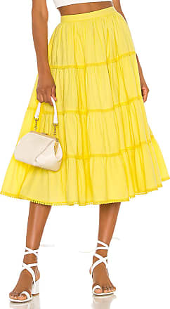 Tularosa Thelma Skirt in Yellow