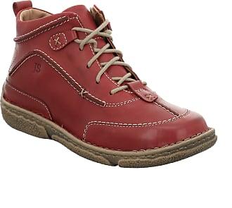 Josef Seibel Women Ankle Boots Neele 52, Ladies Lace-up Ankle Boot, Boots,Half Boots,Laced Bootie,Red(Hibiscus),39 EU / 5.5 UK