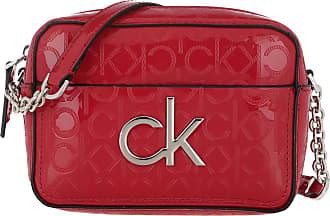Calvin Klein Cross Body Bags - Re-Lock Camera Bag Chilli Pepper - red - Cross Body Bags for ladies