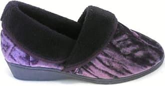 Lotus Doris Purple Full Slipper 4