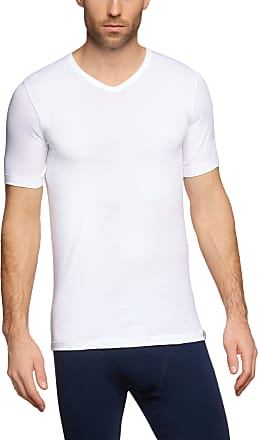 Schiesser Mens Vest, 205429-100, White (100-Weiss), Medium (M)