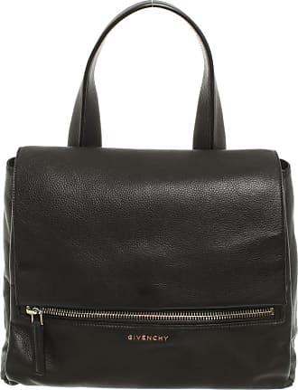 Givenchy gebraucht - Givenchy-Pandora Bag aus Leder in Schwarz - Handtasche - Damen - Leder