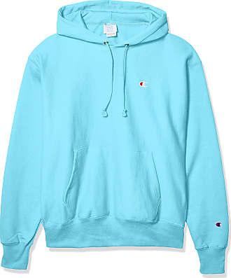 Champion LIFE Mens Reverse Weave PO Hood Sweatshirt, Blue Horizon, XXXL
