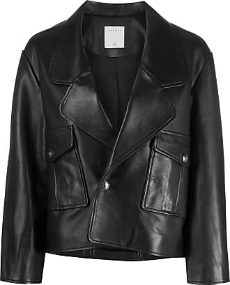 Sandro Shanny leather jacket - Black