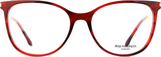 Ana Hickmann Óculos de Grau Ana Hickmann Ah6388 G22/55 Vermelho/dourado