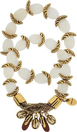 Camila Klein Kit de pulseiras Madrepérola - Dourado