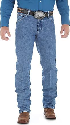 Wrangler Mens Premium Performance Cowboy Cut Jean,Stonewash,30x34