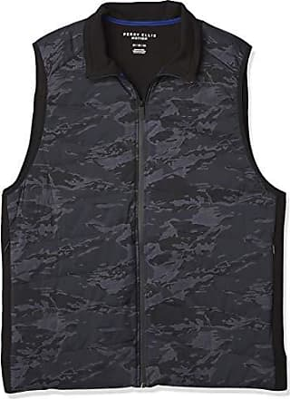 Blizzard Bay Mens Full Zip Quiled Shaker Stitch Vest