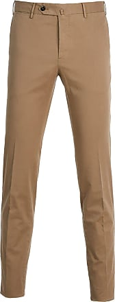 PT01 Fashion Man DT01Z00CL1TT260100 Brown Cotton Pants | Ss2