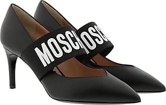 Moschino Pumps - Logo Pumps Leather Black - black - Pumps for ladies