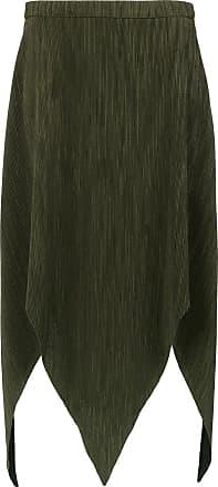 OLYMPIAH Laria midi skirt - Green