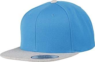 Yupoong Flexfit Unisex Classic Varsity Snapback Cap (One Size) (Sapphire/Heather Grey)