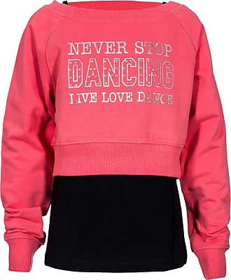 Brody /& Co Girls Dance T-Shirts Vests Double Layer Love to Dance Tops