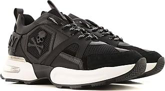 Philipp Plein Sneaker Uomo On Sale, Nero, pelle, 2019, 40 41 42 43