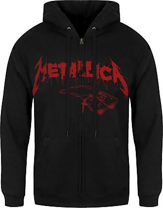 Metallica One Cover Men/'s Black Zipped Hoodie