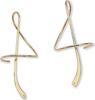 PalmBeach Jewelry 14k Yellow Gold Spiral Drop Earrings