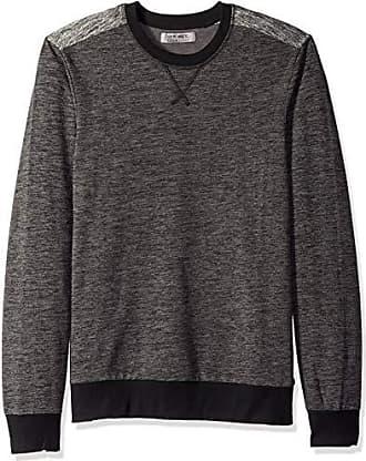 2(x)ist Mens Pullover Crewneck Sweatshirt Sweater, Charcoal Heather Grey, X-Large