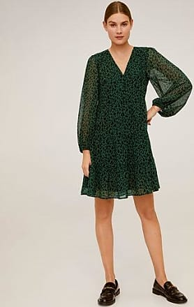 Mango Flowy printed dress