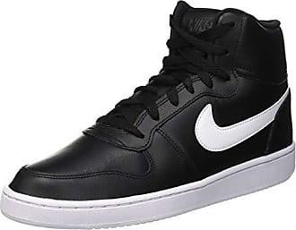 4af99b54 Nike Ebernon Mid, Zapatillas Altas para Hombre, Negro (Black/White 002)