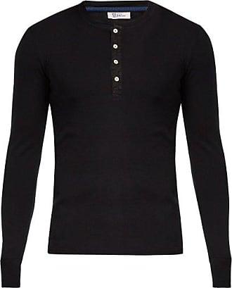 Schiesser Karl-heinz Cotton T-shirt - Mens - Black