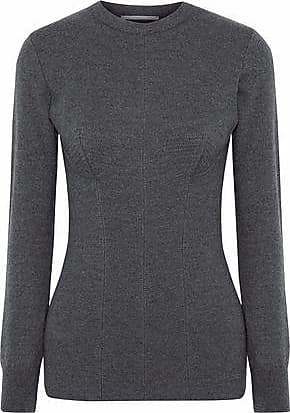 b55d5f42 Stella McCartney Stella Mccartney Woman Mélange Wool Sweater Anthracite Size  34