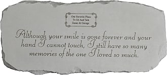Kay Berry Although Your Smile Memorial Garden Bench - 45950
