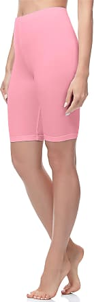 Merry Style Womens Short Leggings MS10-200 (Pink, XXL)
