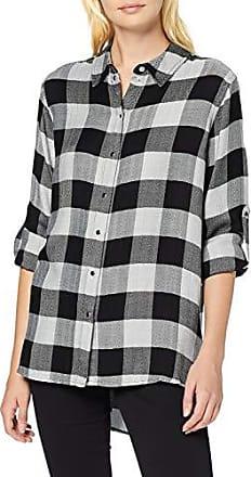 Guess LS Clouis Shirt Camicia, Multicolore (Dream Roses Black Co PX19), X Small (Taglia Produttore:XS) Donna