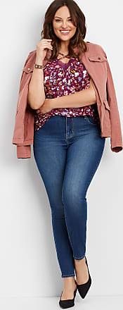 955fd228f Maurices Plus Size - Everflex High Rise Medium Stretch Skinny Jeans