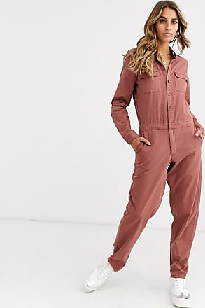 Vero Moda Vmemilia Ruffle Drop Chambray Jumpsuit Monopezzo Donna
