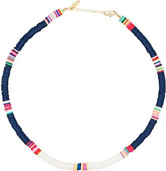 Allthemust Collana con perline - Di colore blu