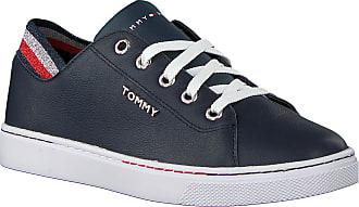 Tommy Hilfiger Blaue Tommy Hilfiger Sneaker Low Glitter Detail City