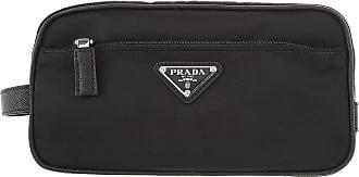 1c8bc66ae785 Prada Toiletry Bag for Men, Black, Nylon, 2017, one size