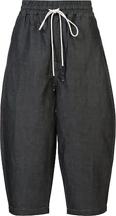 Mostly Heard Rarely Seen Pantaloni vestibilità larga - Di Colore Grigio 49612a40078f