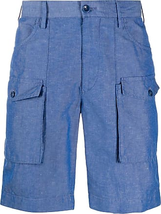 Incotex slim-fit cargo shorts - Blue