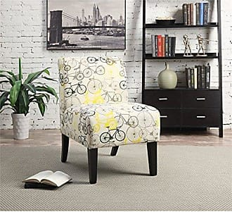 ACME ACME Ollano Pattern Fabric Accent Chair