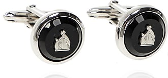 Lanvin Embellished Cufflinks Mens Black