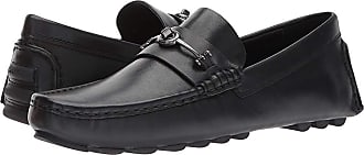 077b3b9dde5 Coach Crosby Turnlock Driver Leather (Black) Mens Shoes