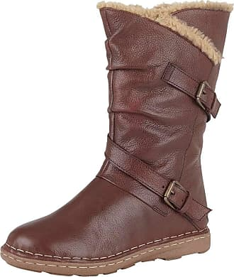 Lotus Womens Jolanda High Boots, Red (Bordo Dark), 4 (37 EU)
