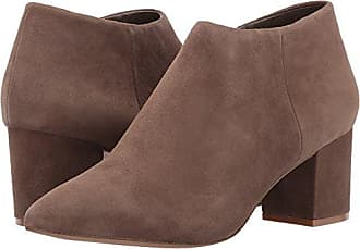 09931a8cd5c Steven by Steve Madden Womens Bergen Ankle Bootie Taupe Suede 6 M US