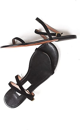 L'autre Chose Low Sandals Made in Italy Black Size: 3 UK