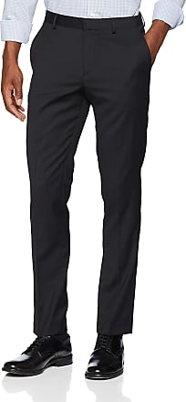 Selected Homme Mens Slhslim-mylobill TRS B Noos Suit Trousers, Black (Black Black), W36 (Size: 102)